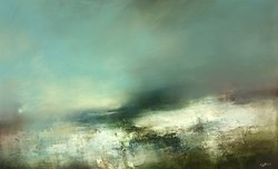Tenebrae by Neil Nelson - Original Painting on Box Canvas sized 45x28 inches. Available from Whitewall Galleries